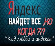 ИНДЕКСАЦИЯ яндекса