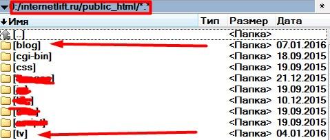 на одном домене несколько сайтов