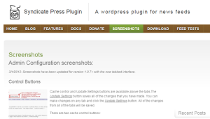 syndicate press plugin
