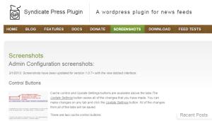syndicate press plugin
